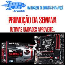 Kit 7º Geração H170 Gaming3 +core I5 7400+ 2x8gb Hyperx Nf-e