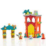 Play Doh Town Estación De Bomberos Hasbro B3415