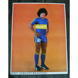 Poster Diego Armando Maradona Dt Camiseta Boca Juniors