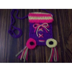 Cartera Soy Luna-para Celular O Para Nenas- En Crochet-