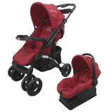 Coche Duck Pariggi Travel System Huevo Base Cubrepies + Tul