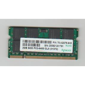 Memoria Note 2gb Ddr2 Pc2 6400 Apacer Original Positivo Z770