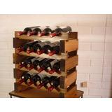 Cava Modular Para Guardar Botella De Vino. Modelo Cm-4