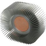 Disipador Pasivo Para Led De 20w A 30w Aluminio Y Cobre