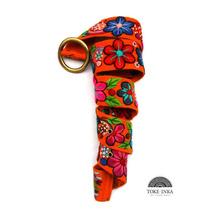Cinturon Bordado A Mano, Cintos Tejidos 100% Artesanal Inca