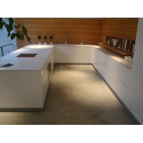 Muebles De Cocina Batista Con Silestone Zeus - Amoblamiento