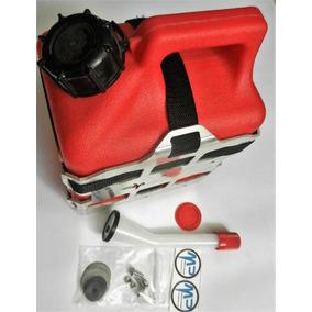 Bidon Combustible 1 Galon Con Soporte Aluminio Motoperimetro