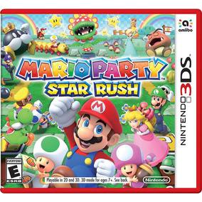 Vieojuego Mario Party Star Rush Nintendo 3ds Gamer Standard