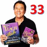 33 Libros De Robert Kiyosaki + Juego Mesa Cash Flow + Bonos