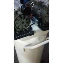 Compresor 2.5 H.p. Tanque 80 Lit Libre De Aceite 4 Cilindros