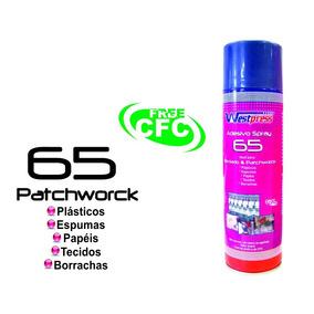 Adesivo Cola Spray Temporária Patchwork Bordado Tecido 500ml