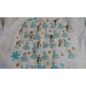 Souvenir Frozen, Princesas Porcelana Fría X 10 Unidades
