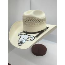 Sombrero Cuernos Chuecos Roper Shantung Bicolor