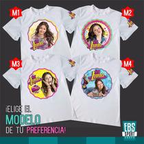 Camiseta Camisa Niña Soy Luna Ambar Valiente Descendiente