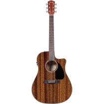 Violão Fender Aço Elétrico Folk Fishmann Cd-60 Maho C/ Case