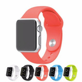 Pack 2 Correas De Silicona Para Apple Watch 38mm