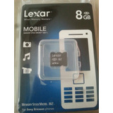 Memoria 8gb Memory Stick Micro M2 Ps Go