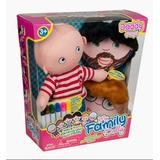 Muñeco Para Colorear My Family Dolly Papi - Vamosajugar