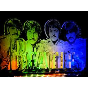 Beatles Luminaira Com Base De Led