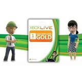 Xbox Live Gold 1 Mes Codigos