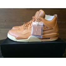 Zapatillas Nike Jordan Retro 4 Premiun Wheat A Pedido
