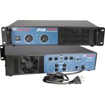 Amplificador De Potência New Vox Pa-600 - 300w Rms