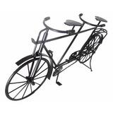 Bicicleta Ferro Miniatura 42 Retro Vintage 2pedal Mesa Preto