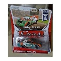 Cars Sputter Stop No. 92 Copa Piston Disney Pixar Mundo Cars