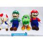 Mario Luigi Pelucia Toad E Yoshi Kit Com 4