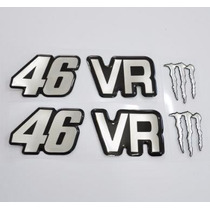 Adesivos Resinados Monster Valentino Rossi 46 Vr The Doctor