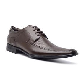 Sapato Social Masculino Em Couro Natural Pqg 003 Di Pollini