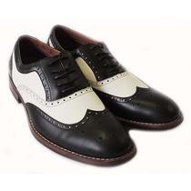 Zapato De Piel Para Hombre Bostoniano Oxford Envio Gratis!
