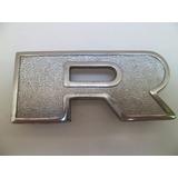 Emblema Insignia Letra ( R ) De Capot Para Ford F-7000