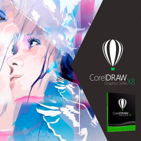 Corel Draw Graphics Suite X8 Permanente