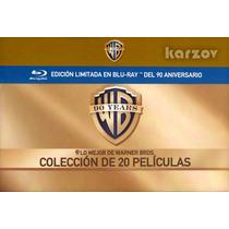 Warner Bros Coleccion 20 Peliculas 90 Aniversario En Blu-ray