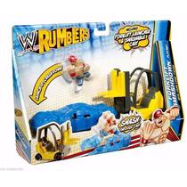 Wwe Rumblers John Cena Carretilla Elevadora