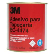 Adesivo De Contato Industrial Para Tapeçaria 670g Ec-4474 -