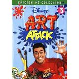 Art Attack. Disney Nuevo Dvd Disco 3 En Su Caja Original