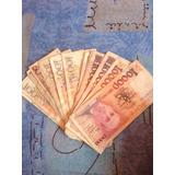Lote De Notas E Moedas Antigas Cruzeiro 1990 1991 E 1992