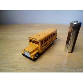 Camión Escolar Escala School Bus 1976 Tomica F5 S1-108 Ce139