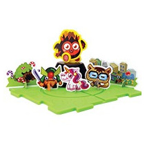 Moshi Monsters Set De Diavlo Armable Del Burger King