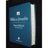Nueva Biblia De Jerusalen Aumentada Y Revisada Nueva Edición