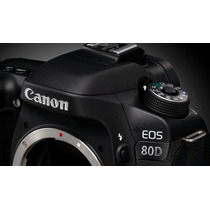 Câmera Canon Dslr Eos 80d Corpo 24mp