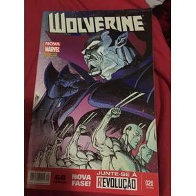 Revista Hq Wolverine Totalmente Nova Marvel 20