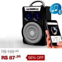 Caixa Caixinha Som Portátil Bluetooth Mp3 Recarregavel E13