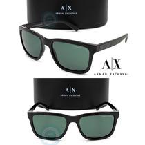 Lentes Armani Exchange Ax4045s - 817871 Black / Grey Green