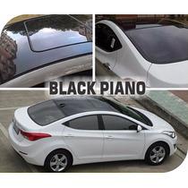 Adesivo Vinil Envelopamento Automotivo Black Piano 2m X 1m