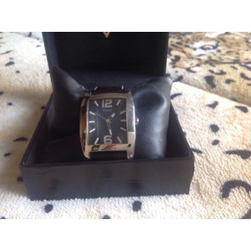 Relógio Guess Com Pulseira De Couro Original