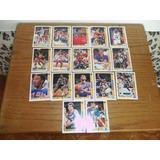 17 Tarjetas Nba Uper Deck 91-92 De 383-399 Coleccionables.
