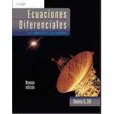 Dennis Zill Ecuaciones Diferenciales 9na Edicición Pdf